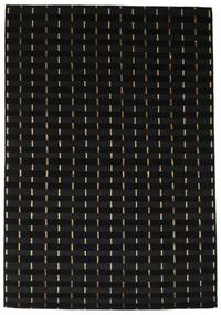 Himalaya Rug 166X241 Authentic  Modern Handknotted Black ( India)