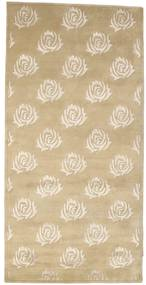 Himalaya Rug 101X202 Authentic  Modern Handknotted Light Brown/Beige ( India)