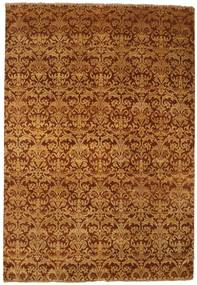 Damask Rug 179X260 Authentic  Modern Handknotted Brown/Light Brown ( India)