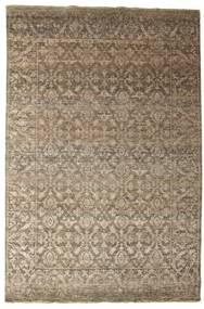 Damask Matto 199X300 Moderni Käsinsolmittu Vaaleanruskea ( Intia)