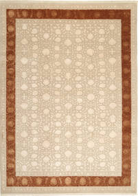 Tabriz Royal Magic Rug 232X320 Authentic  Oriental Handknotted Light Brown/Beige ( India)