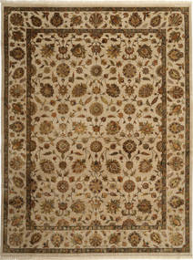Tabriz Royal Magic Rug 270X360 Authentic  Oriental Handknotted Brown/Light Brown Large ( India)