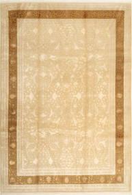 Tabriz Royal Magic Teppe 220X320 Ekte Orientalsk Håndknyttet Mørk Beige/Lysbrun ( India)