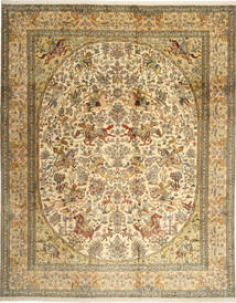 Kashmir puur zijde tapijt AXVZG10