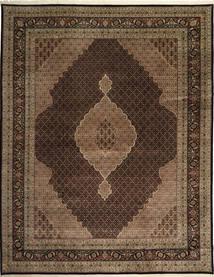 Tabriz Royal Mahi Rug 305X391 Authentic  Oriental Handknotted Dark Brown/Brown/Light Brown Large ( India)