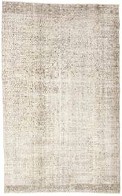 Colored Vintage Rug 155X252 Authentic  Modern Handknotted Light Grey/Beige (Wool, Turkey)