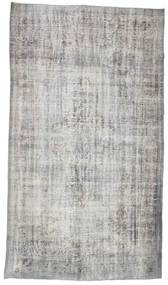 Colored Vintage Rug 160X280 Authentic  Modern Handknotted Light Grey/Beige (Wool, Turkey)