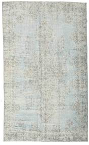 Colored Vintage Rug 170X280 Authentic  Modern Handknotted Light Grey (Wool, Turkey)
