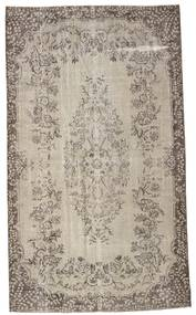 Colored Vintage Rug 170X292 Authentic  Modern Handknotted Light Grey/Light Brown (Wool, Turkey)