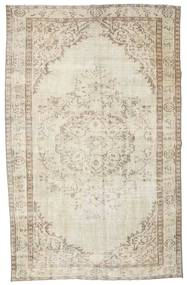 Colored Vintage Rug 162X259 Authentic  Modern Handknotted Light Brown/Dark Beige (Wool, Turkey)