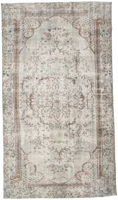 Colored Vintage Rug 150X268 Authentic  Modern Handknotted Light Grey/Light Brown (Wool, Turkey)