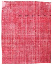 Colored Vintage Rug 190X235 Authentic  Modern Handknotted Pink/Rust Red (Wool, Turkey)
