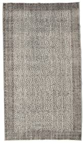 Colored Vintage Rug 166X296 Authentic  Modern Handknotted Light Grey/Dark Grey (Wool, Turkey)