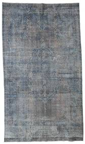 Colored Vintage Rug 177X314 Authentic  Modern Handknotted Light Grey/Dark Grey (Wool, Turkey)