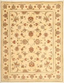 Yazd Rug 197X256 Authentic  Oriental Handknotted Light Brown/Dark Beige (Wool, Persia/Iran)