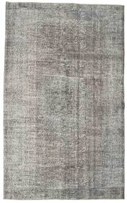 Colored Vintage Rug 162X262 Authentic  Modern Handknotted Light Grey/Dark Grey (Wool, Turkey)