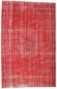 Colored Vintage Rug 190X302 Authentic  Modern Handknotted Crimson Red/Rust Red (Wool, Turkey)