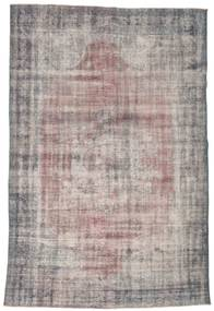 Colored Vintage Rug 188X287 Authentic  Modern Handknotted Light Grey/Dark Grey (Wool, Turkey)