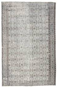 Colored Vintage Rug 185X287 Authentic  Modern Handknotted Light Grey/Dark Grey (Wool, Turkey)