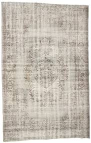 Colored Vintage Rug 191X302 Authentic  Modern Handknotted Light Grey/Light Brown (Wool, Turkey)
