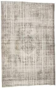 カラード ヴィンテージ 絨毯 191X302 モダン 手織り 薄い灰色/薄茶色 (ウール, トルコ)
