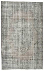 Colored Vintage Rug 170X274 Authentic  Modern Handknotted Light Grey/Dark Grey (Wool, Turkey)