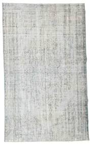 Colored Vintage Rug 155X258 Authentic  Modern Handknotted Light Grey/Beige (Wool, Turkey)