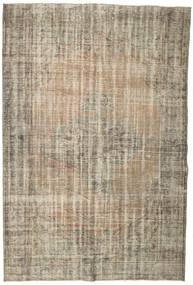 Colored Vintage Rug 176X263 Authentic  Modern Handknotted Light Brown (Wool, Turkey)
