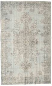 Colored Vintage Rug 184X306 Authentic  Modern Handknotted Light Grey (Wool, Turkey)