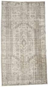 カラード ヴィンテージ 絨毯 152X278 モダン 手織り 薄い灰色/薄茶色 (ウール, トルコ)