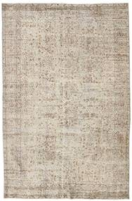 Colored Vintage Rug 174X295 Authentic  Modern Handknotted Light Brown/Light Grey (Wool, Turkey)