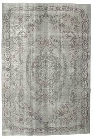 Colored Vintage Rug 187X275 Authentic  Modern Handknotted Light Grey/Dark Grey (Wool, Turkey)