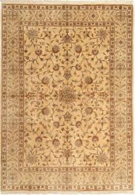Yazd Matta 170X245 Äkta Orientalisk Handknuten Ljusbrun/Brun (Ull, Persien/Iran)