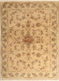 Yazd Matto 173X231 Itämainen Käsinsolmittu Vaaleanruskea/Tummanbeige (Villa, Persia/Iran)
