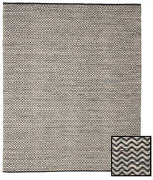 Chevron Waves - Dark Rug 250X300 Authentic  Modern Handwoven Light Grey/Dark Grey Large ( India)