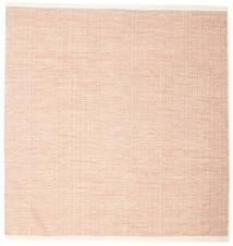 Seaby - Castanho Alaranjado Tapete 250X250 Moderno Tecidos À Mão Quadrado Luz Rosa/Bege Escuro Grande (Lã, Índia)