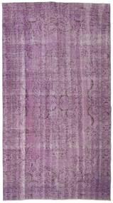Colored Vintage Tappeto 165X297 Moderno Fatto A Mano Rosa/Violet Clair/Rosa Chiaro (Lana, Turchia)