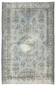 Colored Vintage Rug 170X262 Authentic  Modern Handknotted Light Grey/Dark Grey (Wool, Turkey)