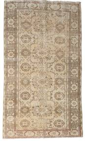 Colored Vintage Rug 155X267 Authentic  Modern Handknotted Light Brown (Wool, Turkey)