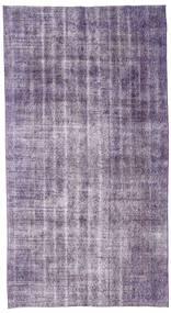 カラード ヴィンテージ 絨毯 150X275 モダン 手織り 薄い灰色/薄紫色 (ウール, トルコ)
