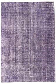 Colored Vintage Rug 185X281 Authentic  Modern Handknotted Light Purple/Purple (Wool, Turkey)