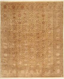 Tabriz Royal Magic Tapis 198X241 D'orient Fait Main Marron Clair/Marron ( Inde)