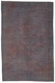 Colored Vintage Tapijt 184X284 Echt Modern Handgeknoopt Roze/Lichtgrijs (Wol, Turkije)