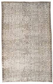 Colored Vintage Rug 164X264 Authentic  Modern Handknotted Light Brown/Light Grey (Wool, Turkey)