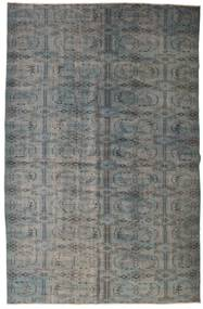 Colored Vintage Rug 167X258 Authentic  Modern Handknotted Dark Grey/Light Grey (Wool, Turkey)