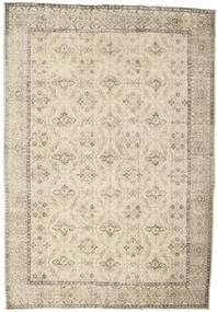 Colored Vintage Rug 203X301 Authentic  Modern Handknotted Light Brown/Beige (Wool, Turkey)