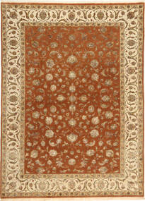 Tabriz Royal Magic Covor 175X239 Orientale Lucrat Manual Maro/Maro Deschis ( India