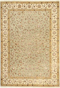 Tabriz Royal Magic Rug 164X243 Authentic  Oriental Handknotted Light Brown/Beige ( India)