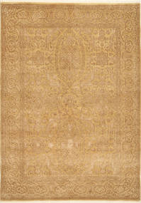 Tabriz Royal Magic Tapis 171X238 D'orient Fait Main Marron Clair ( Inde)