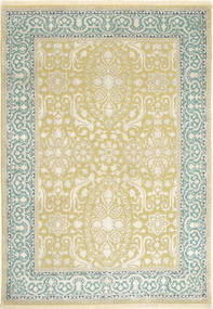 Tabriz Royal Magic Rug 166X237 Authentic  Oriental Handknotted Beige/Yellow ( India)